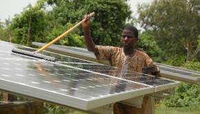 solar panels benin