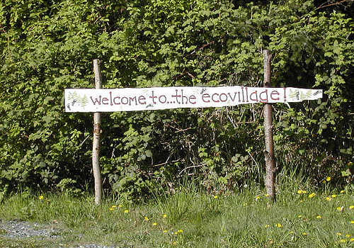 ecovillage welcome