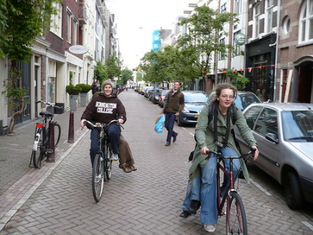 bicycling netherlands