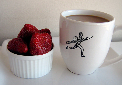 Strawberries and Coffee