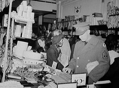 gift shopping depression era