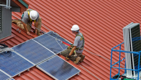 green jobs solar panels