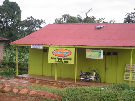 solar phone charging uganda