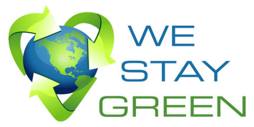 we stay green social network site logo