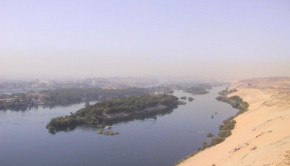 nile river aswan