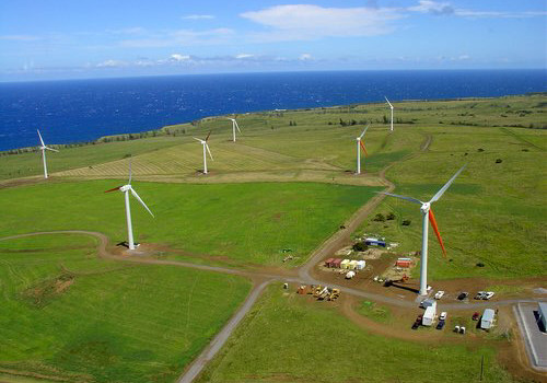 wind farm hawaii