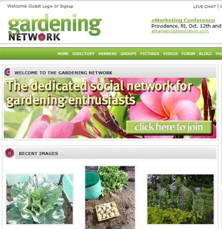 Gardening Social Network