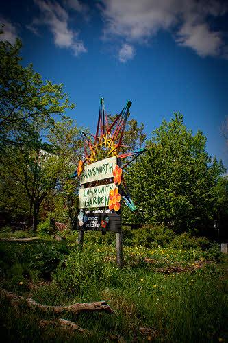 urban farming in detroit: the farnsworth community garden