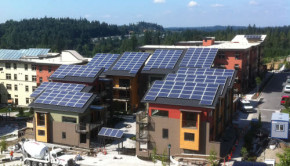 seattle net zero townhouse building