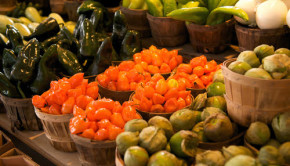 mexican vegetable open air market