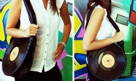 Record Handbag