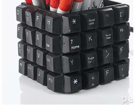 pen cup diy keyboard