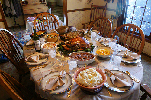 local thanksgiving food
