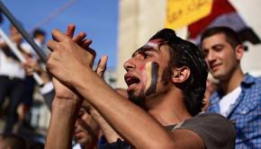 arab spring protestors