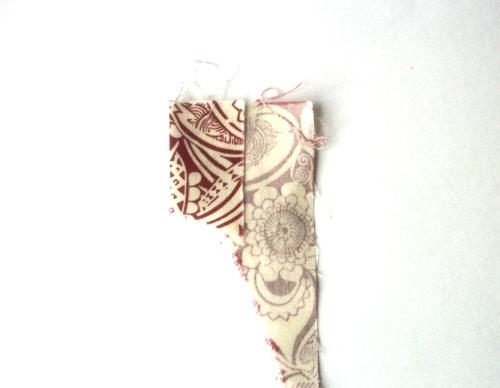 diy valentine garland step 2