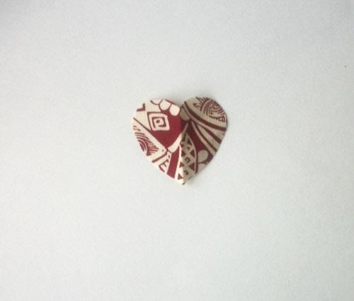 handmade valentine garland step 4