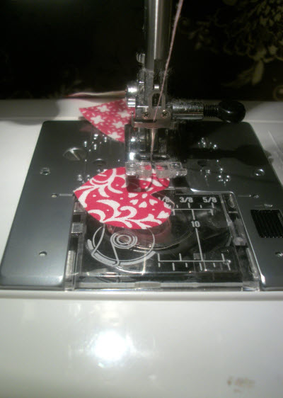 handmade valentine garland step 7