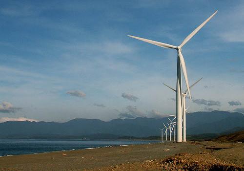 wind turbines philippines