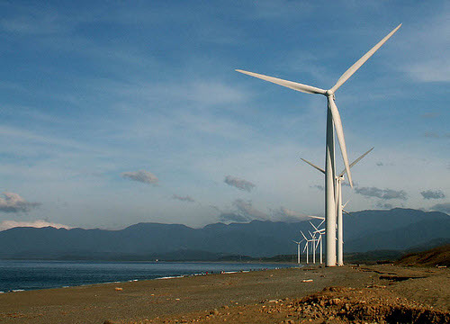 wind turbines in the philippines