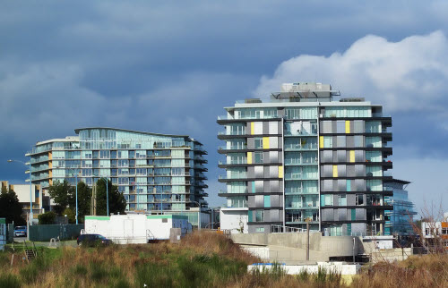 dockside green development in victoria british columbia
