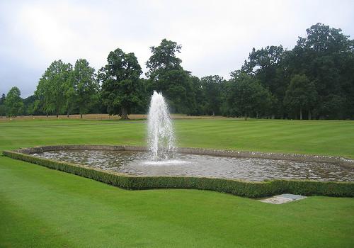 lawn fountain