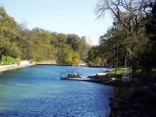 barton springs pool in austin texas