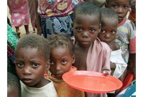 hunger is one of the security challenges of the 21st century