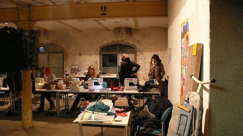 slow fashion production studio