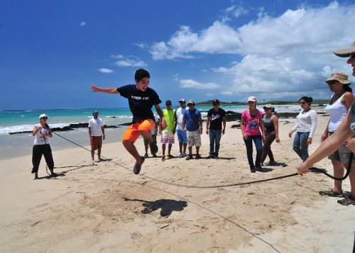 change agent training in the galapagos