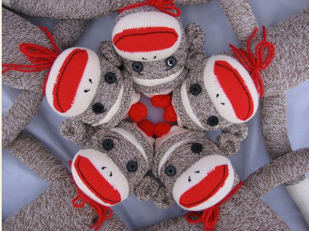 It's Sock Monkey Time!