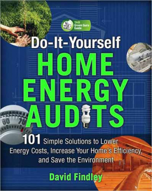 cover of do-it-yourself home energy audits book