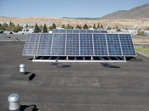 freestanding solar panels