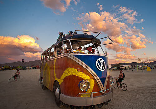 ride to burning man