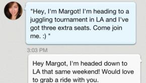 ridejoy ridesharing app chat2