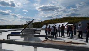 worcester polytechnic solar panels