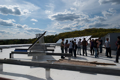 solar panels at worcester polytechnic institute