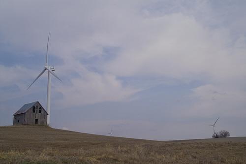 wind turbines near rock port missouri