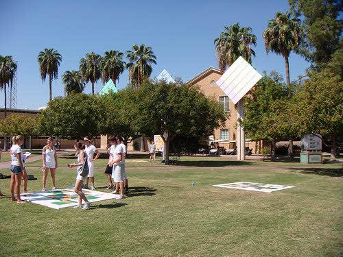 solar panels at arizona state university