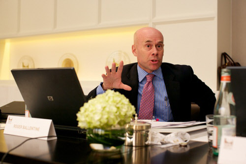 roger ballantine of the zayed future energy prize selection committee