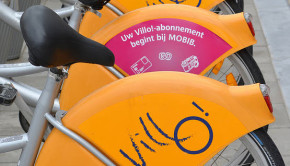 bike sharing station brussels featured