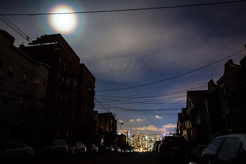power outage during hurricane sandy