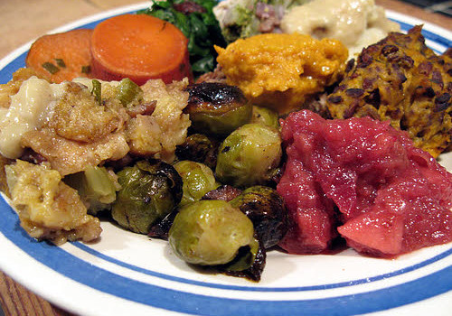 vegan thanksgiving food
