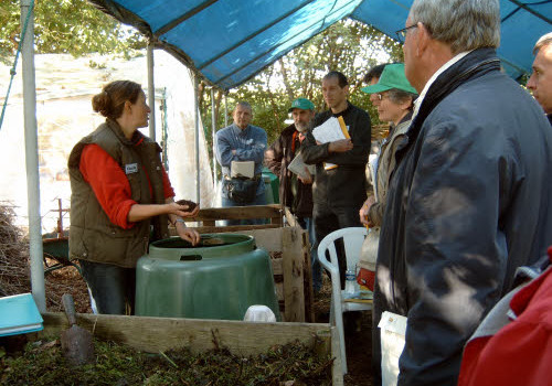 VLACO composting demonstration
