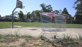 abandoned suburb