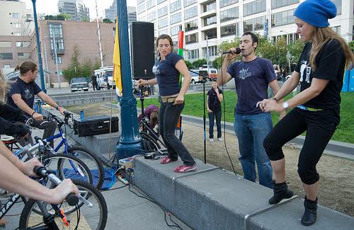 a pedal powered concert