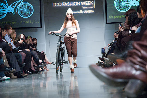 eco fashion week runway