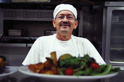 food chain worker