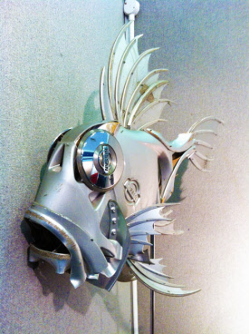 hubcap fish by ptolemy erlington