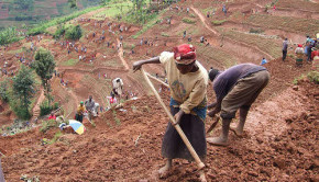 soil erosion prevention project rwanda