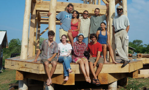 timber framing workshop 2012 featured
